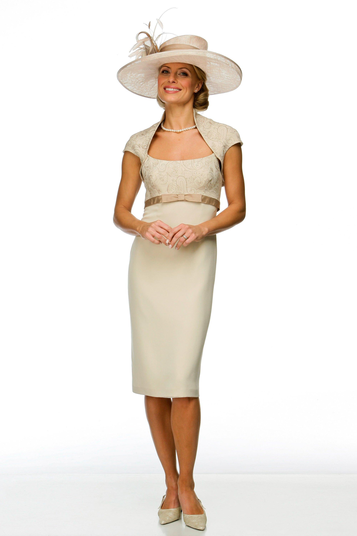 Elegant dress and shrug
