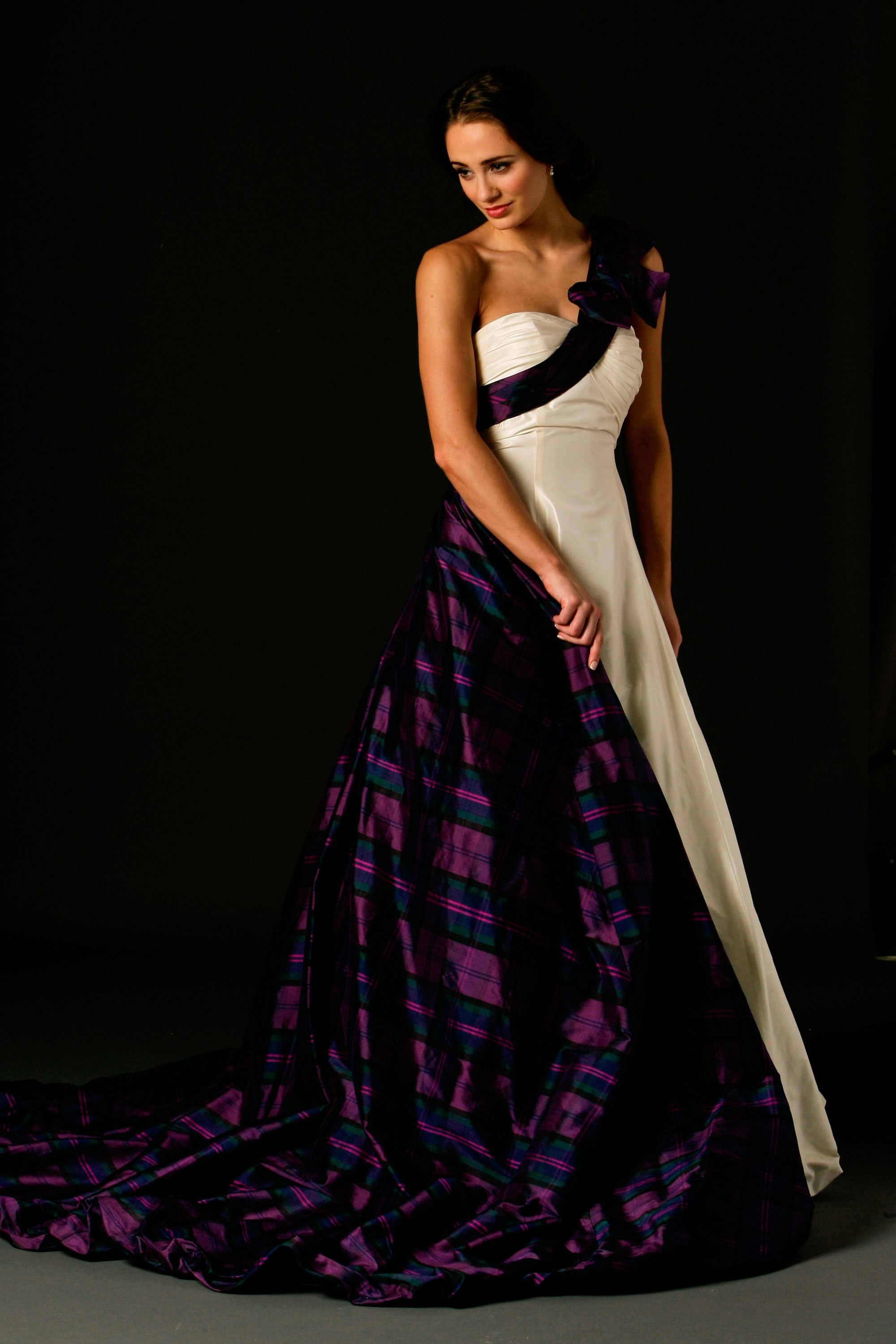 Mirren Tartan Wedding Dress