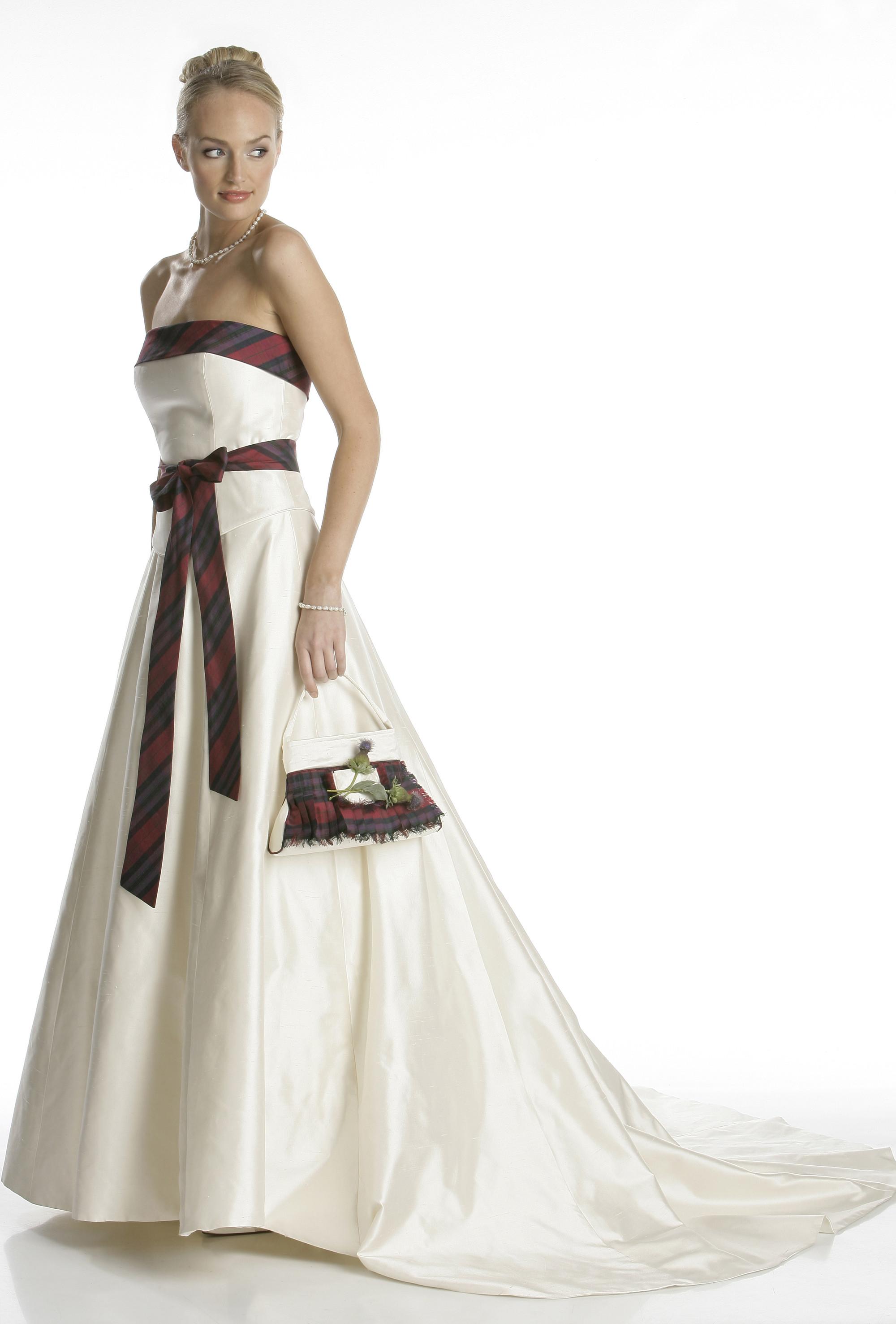 Tartan Wedding Dresses 16