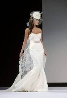 Julianna chantilly lace wedding dress by Joyce Young