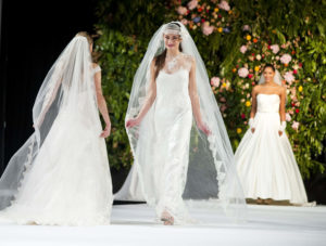Selection of Joyce Young designs for brides