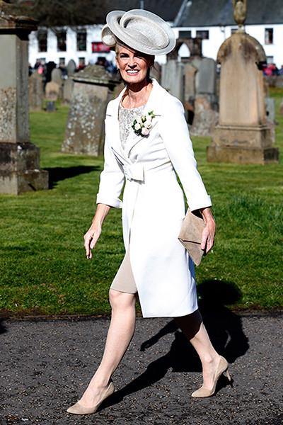 Judy Murray at Andy's wedding