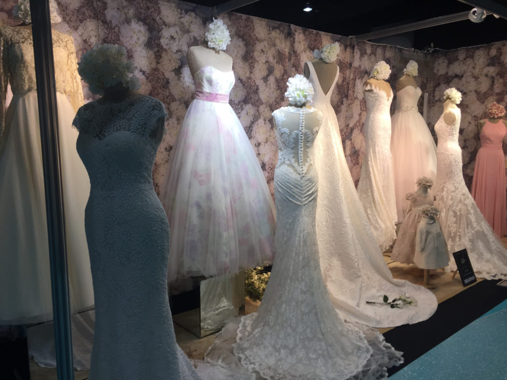 Selection of bridal dresses from the Studio and Couture Collections