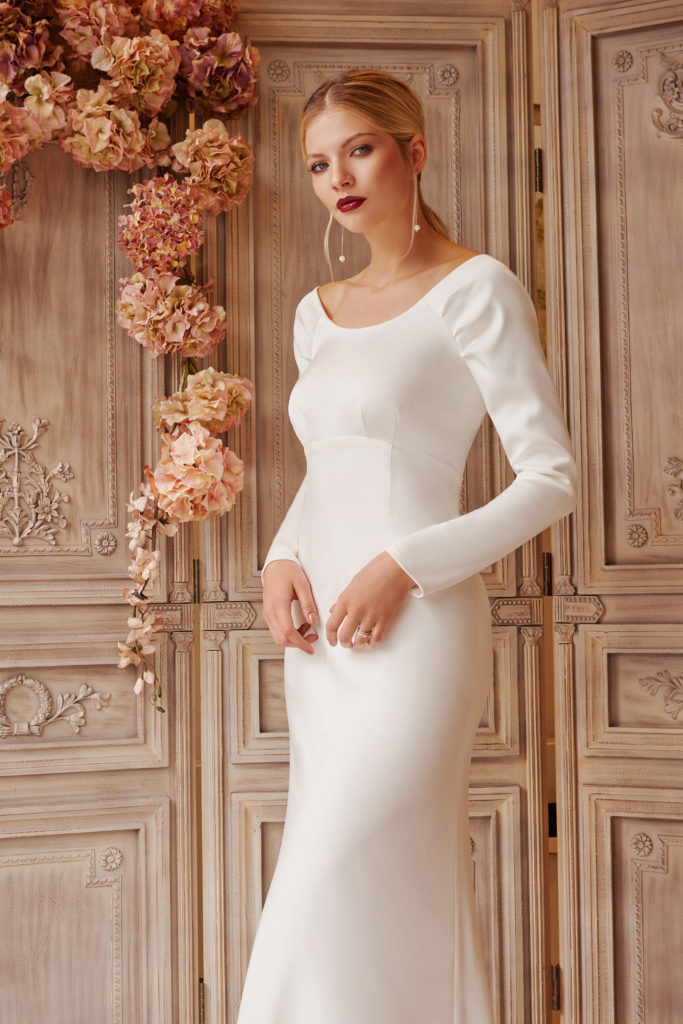 long sleeve elegant dress