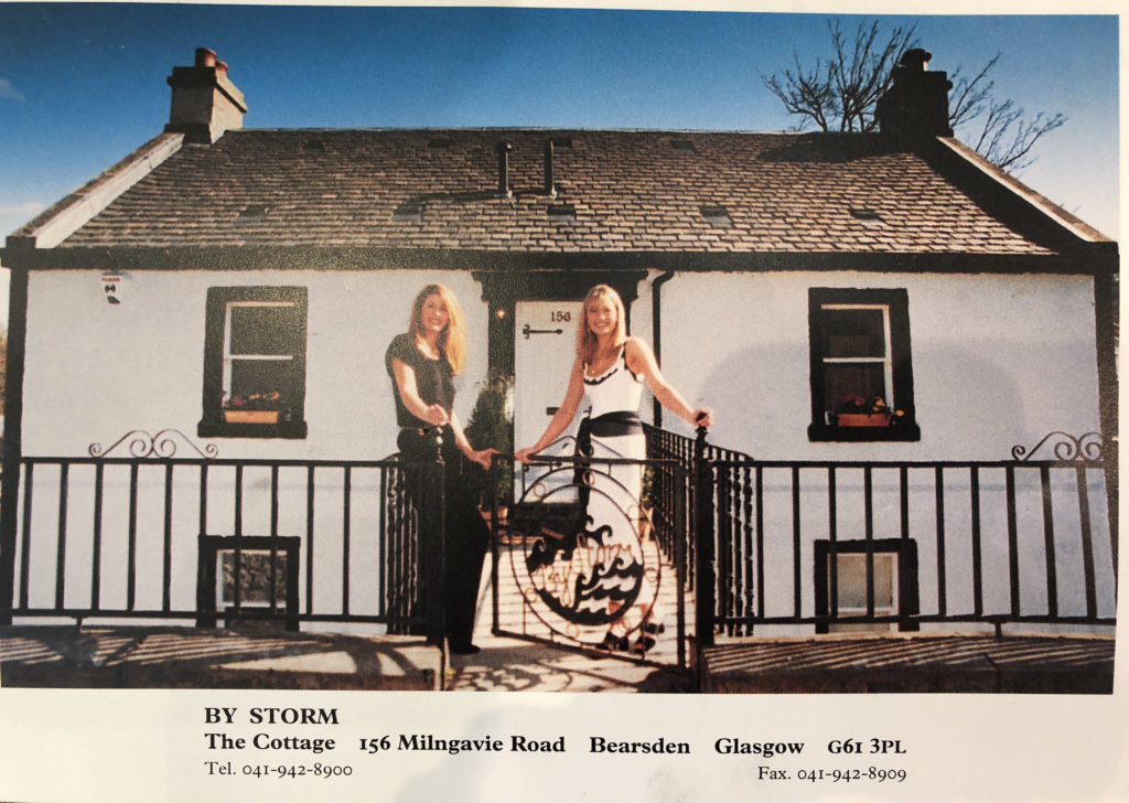 cottage 156 Milngavie Road bersden home to By Storm Ltd for 21 years