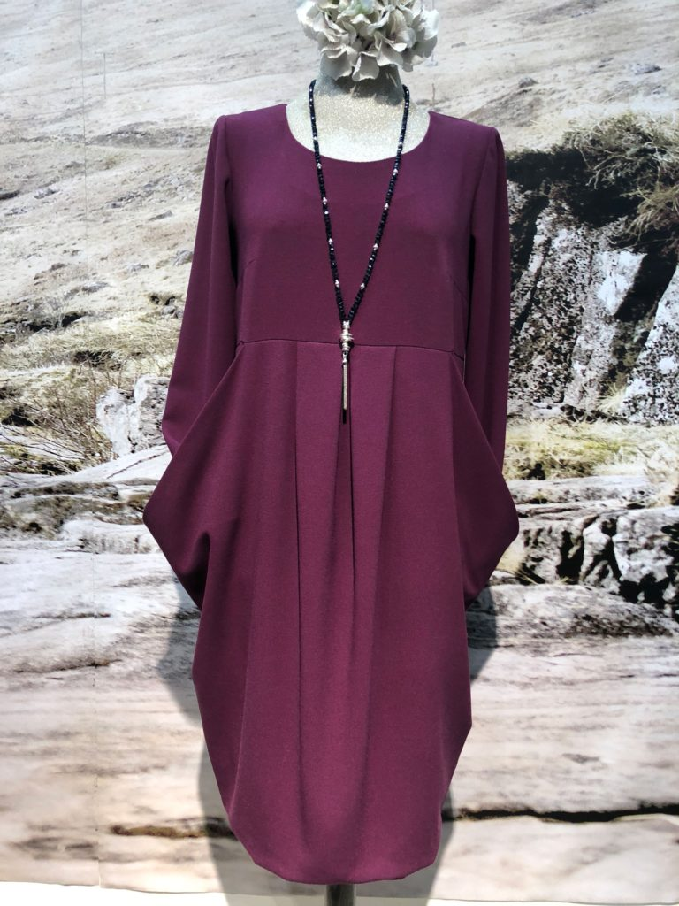 Hammer style relaxed day dress in a choice of 12 colours