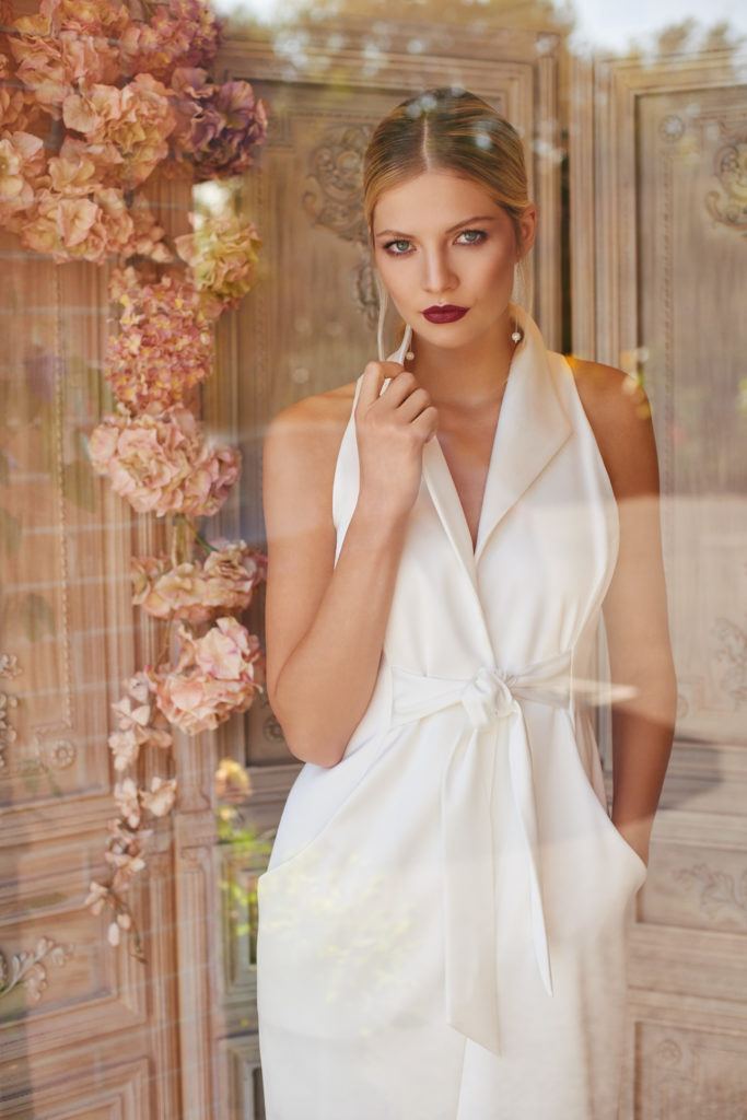 For a luxury look using the best silks we have created Nina. A uniquely modern design aimed at brides looking for that something a little different from the crowd.