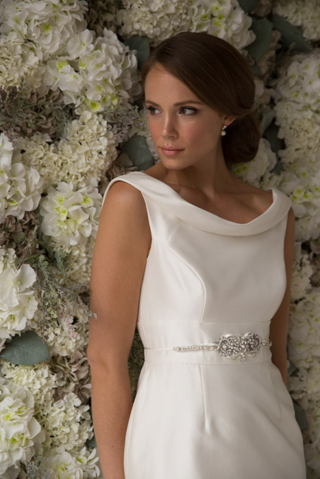 Match your Vintage ROX Jewellery to your Joyce Young Wedding Dress Emma from the Studio Collection