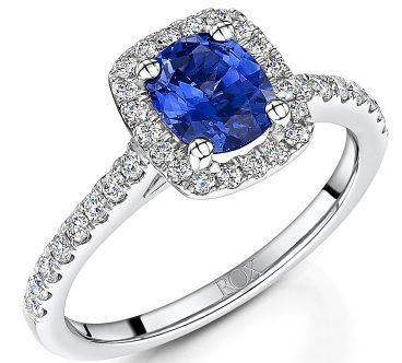 ROX Jewellery Blue sapphire ring