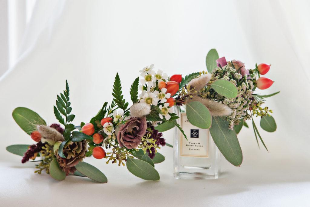 carol lovely flower headpiece