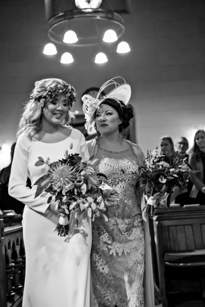 beautiful bride carli