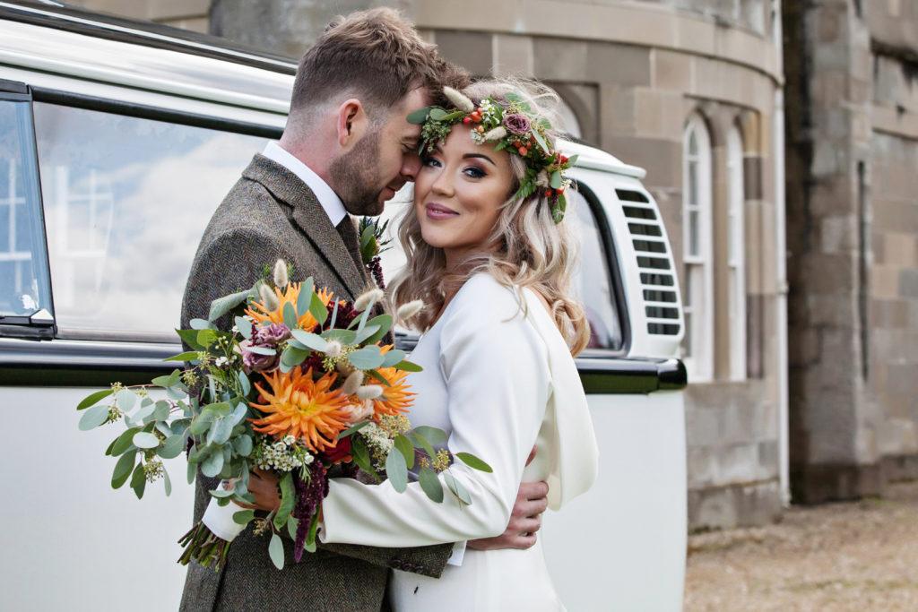 couture bride Carli in Dina Wedding dress
